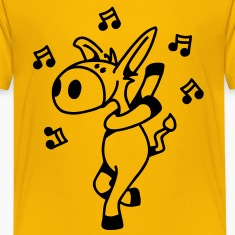 Dancing Donkey Kids' Shirts