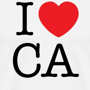 I Love California T-shirt - Men's Premium T-Shirt