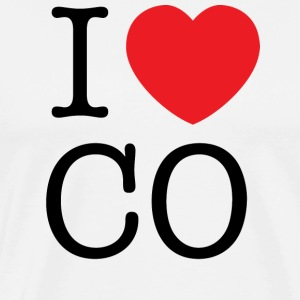 I Love Colorado T-shirt - Men's Premium T-Shirt