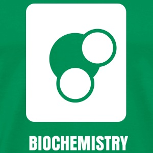 Science Icons: Molecule (EDITABLE TEXT) - Men's Premium T-Shirt