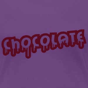 Chocolate Design Women's T-Shirts - Women's Premium T-Shirt