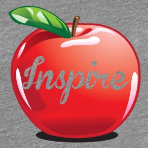 Inspire Apple Teacher Women's T-Shirts - Women's Premium T-Shirt