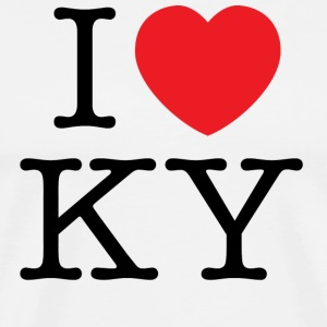 I Love Kentucky T-shirt - Men's Premium T-Shirt