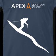 Design ~ Men's Ski T-Shirt (White)