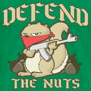 Defend the Nuts! - Men's Premium T-Shirt