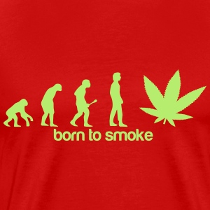 weed evolution T-Shirts - Men's Premium T-Shirt