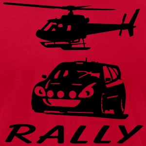 rally T-Shirts - Men's T-Shirt by American Apparel
