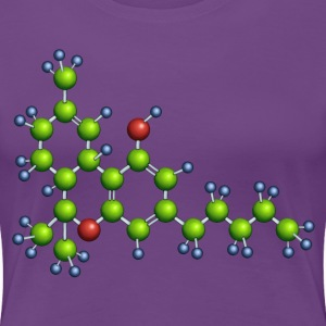 thc molecule - plus size girls shirt - Women's Premium T-Shirt