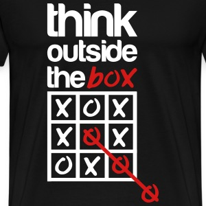 think outside the box T-Shirts - Men's Premium T-Shirt
