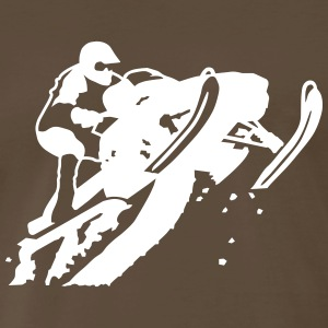 snowmobile T-Shirts - Men's Premium T-Shirt