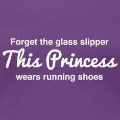 This princess wears running shoes Women's T-Shirts