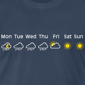 nice weekend weather Shirt - Men's Premium T-Shirt