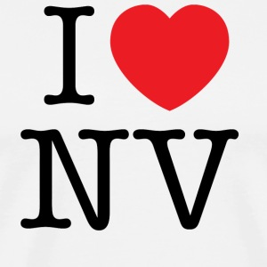 I Love Nevada T-shirt - Men's Premium T-Shirt