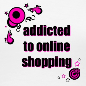 addicted to online shopping - Women's Premium T-Shirt