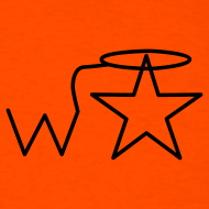 Design ~ Men's Gildan Black Logo S--2X Wranglerstar