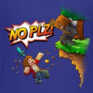 Design ~ No Plz Kids T-Shirt