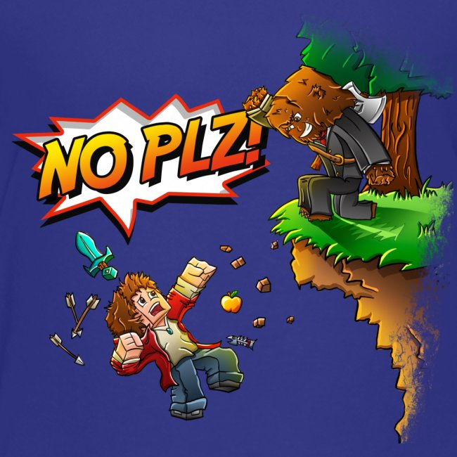 No Plz Kids T-Shirt