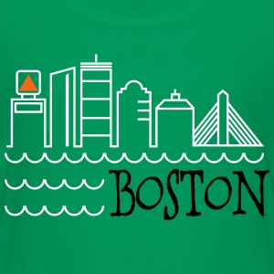 Boston Skyline Kids' Shirts - Kids' Premium T-Shirt