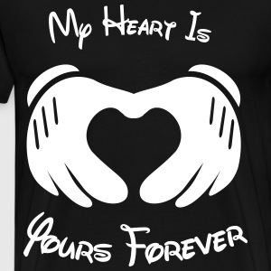 My heart is yours forever - Men's Premium T-Shirt
