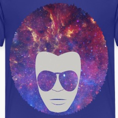 Cosmic Afro Kids' Shirts