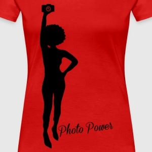 Photo Power - Women's Premium T-Shirt