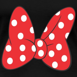 Minnie Bow Red Women's T-Shirts - Women's Premium T-Shirt
