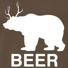 Bear Deer Beer T-Shirts