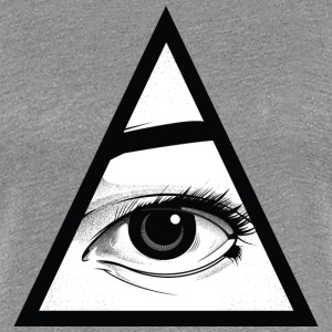 All Seeing Eye Women's T-Shirts - Women's Premium T-Shirt
