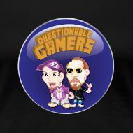 Design ~ Questionable Gamers Shirt - Women's Cut