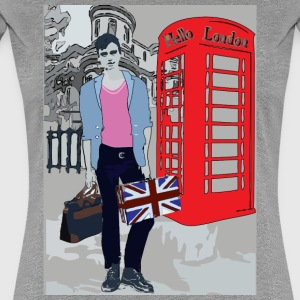 Sexy London Guy Women's Fitted Classic T-shirt - Women's Premium T-Shirt