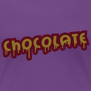Chocolate Graffiti Women's T-Shirts - Women's Premium T-Shirt