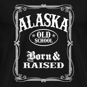 Alaska Old School - Men's Premium T-Shirt