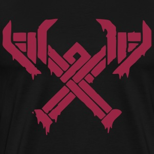 Winter's Claw Emblem T-Shirts - Men's Premium T-Shirt