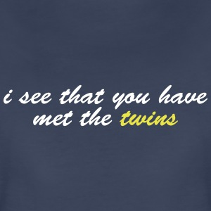 i see you have met the twins Women's T-Shirts - Women's Premium T-Shirt
