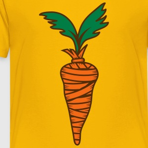 wrapped carrot Kids' Shirts - Kids' Premium T-Shirt