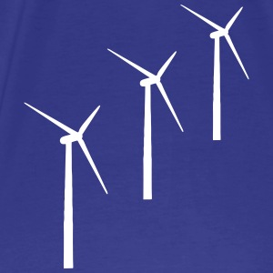 3 wind turbines T-Shirts - Men's Premium T-Shirt