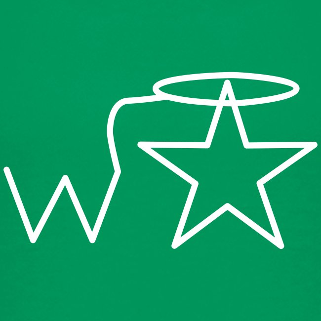 Kids'  White Logo Wranglerstar