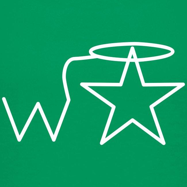 Kids'  White Logo Wranglerstar