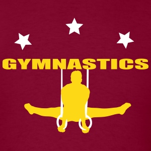 gymnastics men T-Shirts - Men's T-Shirt