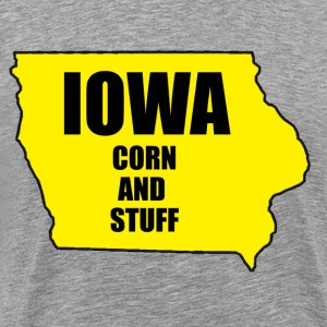 Iowa - Corn and stuff - Men's Premium T-Shirt