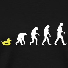 ducky evolution T-Shirts