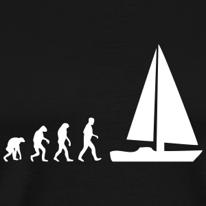 sailing evolution T-Shirts - Men's Premium T-Shirt