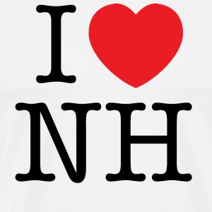 I Love New Hampshire T-shirt - Men's Premium T-Shirt