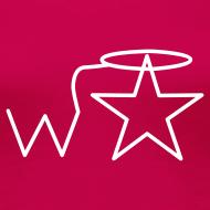 Design ~ Women's Plus Size White Logo Wranglerstar