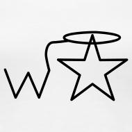 Design ~ Women's Plus Size Black Logo Wranglerstar