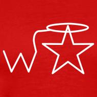 Design ~ Men's Gildan White Logo S-2X Wranglerstar