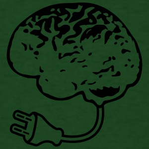 Brain Plug T-Shirts - Men's T-Shirt