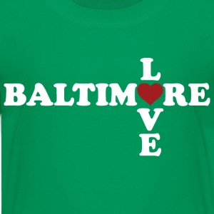 Baltimore Love Kids' Shirts - Kids' Premium T-Shirt