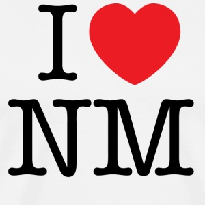 I Love New Mexico T-shirt - Men's Premium T-Shirt