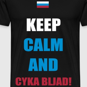 Keep Calm Russian Troll T-Shirts - Men's Premium T-Shirt